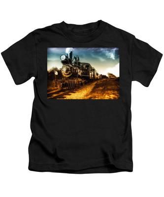 Locomotive Number 4 Kids T-Shirt