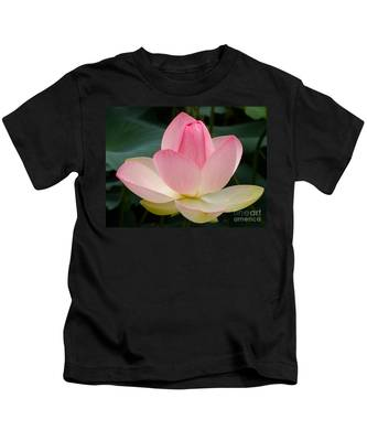 Lotus In Bloom Kids T-Shirt