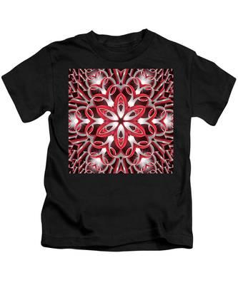 Kids T-Shirt featuring the digital art Love Blossoms by Derek Gedney