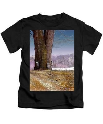 Maple Buckets Kids T-Shirt