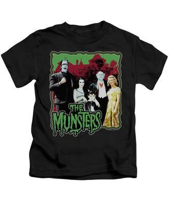Eddie Munster Kids T-Shirts