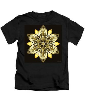 Kids T-Shirt featuring the digital art Nature's Mandala 57 by Derek Gedney