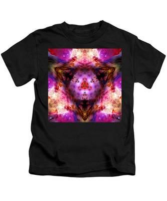 Kids T-Shirt featuring the photograph Orion Nebula Vi by Derek Gedney