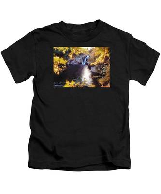 Pool And Falls Kids T-Shirt