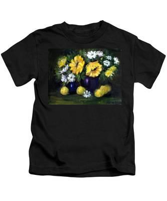 Sun Flowers Kids T-Shirt
