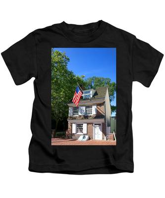 The Betsy Ross House Kids T-Shirt