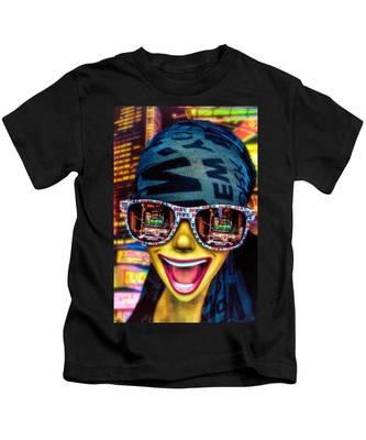 The New York City Tourist Kids T-Shirt