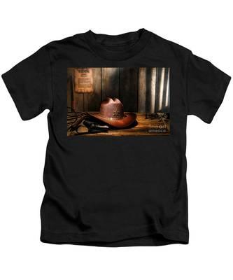 The Sheriff Office Kids T-Shirt