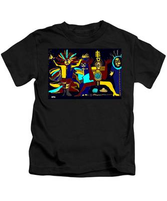 Ancients- Night Visit Kids T-Shirt