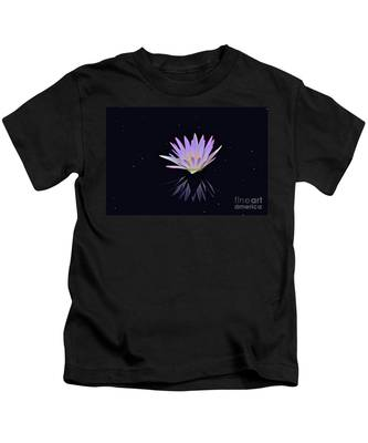 Celestial Waterlily Kids T-Shirt