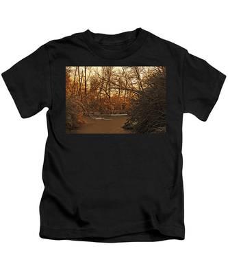Frozen Pond Kids T-Shirt