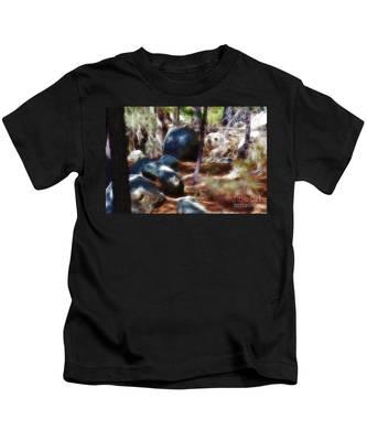 Incinerator Ridge Fractal Kids T-Shirt