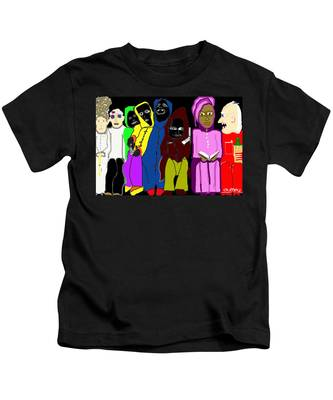 Waiting Room Charity Hospital 2 Kids T-Shirt