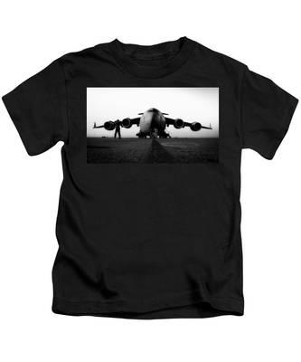 C-17 Globemaster III American Airpower Men`s Dark T-Shirt