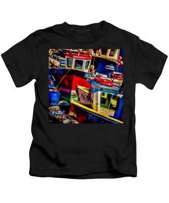 Fishing Fleet Kids T-Shirt