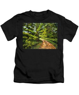 Forest Pathway Kids T-Shirt