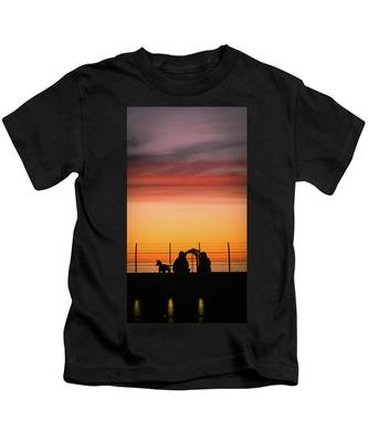 22nd St Sunset Kids T-Shirt