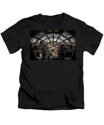 B29 Superfortress Fifi Cockpit View Kids T-Shirt