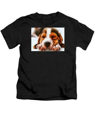 Beagle Puppy Kids T-Shirt