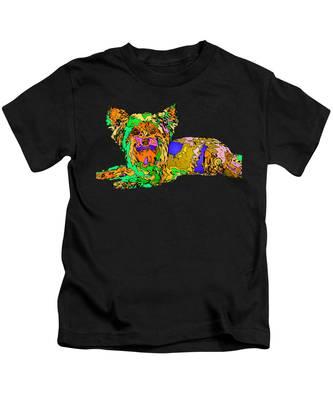 Buddy. Pet Series Kids T-Shirt