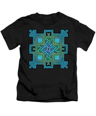 Celtic Castle Kids T-Shirt