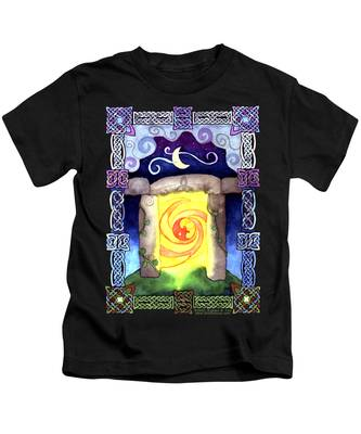 Celtic Doorway Kids T-Shirt