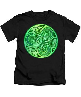 Celtic Triskele Kids T-Shirt