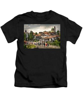 City - Veliko Tarnovo Bulgaria Europe Kids T-Shirt