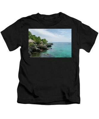 The Cliffs Of Negril Kids T-Shirt