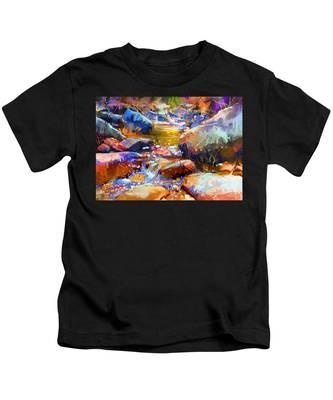 Colorful Stones Kids T-Shirt