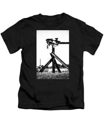Crissy Field Iron Scuplure Kids T-Shirt