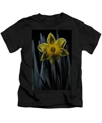 Daffodil By Moonlight Kids T-Shirt