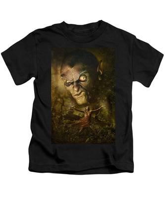 Demonic Evocation Kids T-Shirt