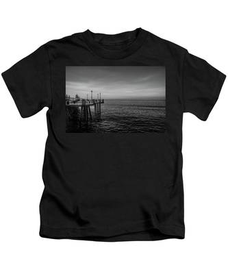 Early Morning Redondo By Mike-hope Kids T-Shirt
