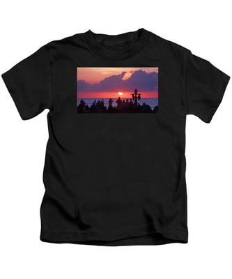 Easter Sunrise Beach Service Kids T-Shirt