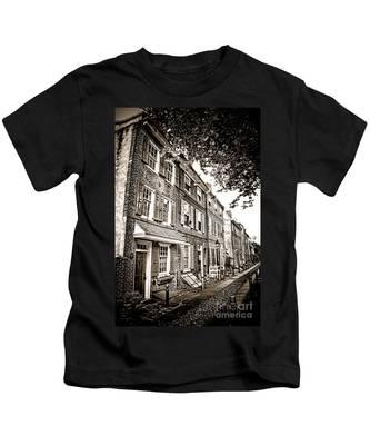 Elfreth Alley  Kids T-Shirt