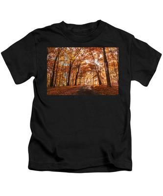 Enchanting Fall Kids T-Shirt