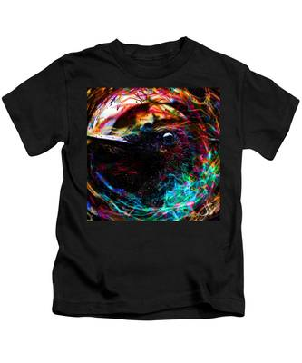 Eyes Of The World Kids T-Shirt