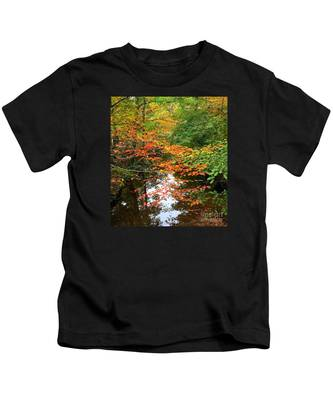 Fall Is In The Air Kids T-Shirt