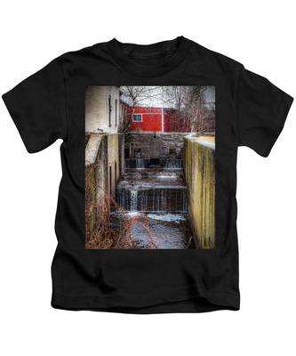 Feeder Canal Lock 13 Kids T-Shirt