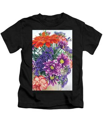 Flowers From Daughter Kids T-Shirt