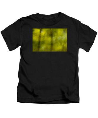 Forest Abstract Reflection Kids T-Shirt