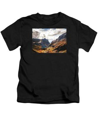 French Alps Kids T-Shirt