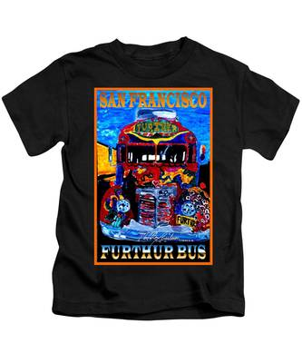 50th Anniversary Further Bus Tour Kids T-Shirt