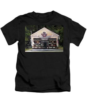 Granville Country Store Front View Kids T-Shirt