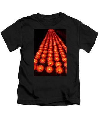 Healing Lights 1 Kids T-Shirt