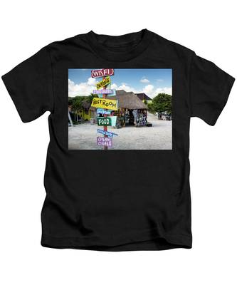 Here's What's Here 2 Kids T-Shirt