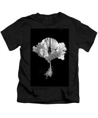 Hibiscus As Art 2 Kids T-Shirt