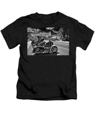Hogs On Main Street Kids T-Shirt