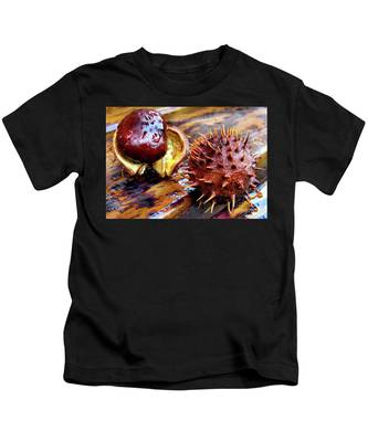Horse Chestnut Aesculus Kids T-Shirt